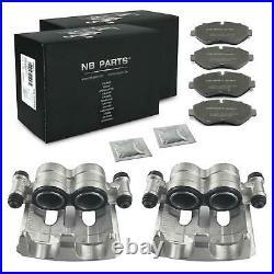2x Étrier 52mm + Plaquettes de Frein Avant Mercedes-Benz Sprinter VW Crafter 2F