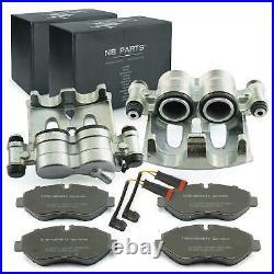 2x Étrier + Plaquettes de Frein Avant Mercedes-Benz Sprinter 906 VW Crafter 2E