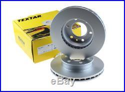 2x TEXTAR Disque de frein avant compatible An MERCEDES SPRINTER CRAFTER 06 Oem