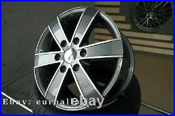 4x 16 inch 6x130 1250KG Mercedes Sprinter VW Crafter Gris Roues Gris