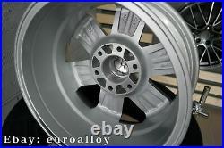 4x 16 inch 6x130 1400KG Mercedes Sprinter VW Crafter Argent Jantes Roues Argent