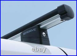 4x Barres de Toit en Aluminium Mercedes Sprinter 2014-2018 Nordrive Kargo Alu