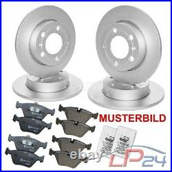 4x Disque+plaquettes De Frein Avant+arrière Mercedes Sprinter 5-t 906 509-524