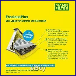 5x Mann Filtre Filtre D'Habitacle Mannol Filtre à Air Mercedes-Benz Sprinter