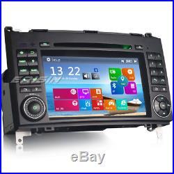 7 GPS Autoradio DAB+ Mercedes Benz A/B Class W169 W245 VW Crafter Vito Sprinter