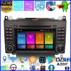 7DAB+Autoradio Android 9.0 Mercedes Class A/B Vito Sprinter Viano Vito Carplay