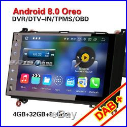 9 Android 8.0 Autoradio DAB+GPS Mercedes Benz A/B Class Sprinter Viano Vito OBD