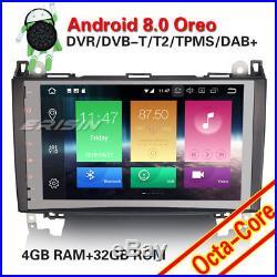 9 Android 8.0 Autoradio GPS DAB+ Mercedes Benz A/B Class Sprinter Viano Vito 4G