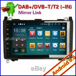 9 Android 9.0 Autoradio Mercedes A/B Class W169 W245 Sprinter Viano Vito OBD 4G