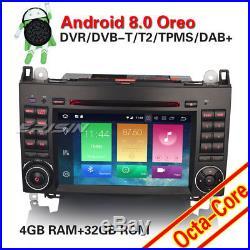 Android 8.0 DAB+ Autoradio Mercedes Benz A/B Class W169 Sprinter Vito Viano OBD
