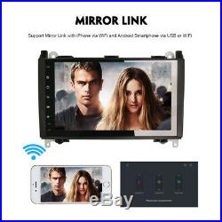 Android 9.0 Navigation GPS Autoradio for Mercedes Benz Sprinter W639 VW Crafter