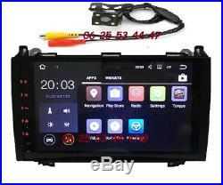 Autoradio Android wifi MERCEDES VITO-VIANO-SPRINTER-CLASSE A et B + VW CRAFTER