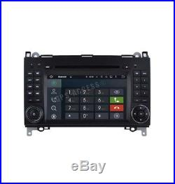 Autoradio GPS Android 8.1 Mercedes Classe A B Viano Vito Sprinter & VW CRAFTER