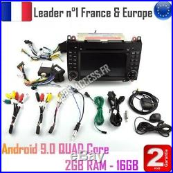 Autoradio GPS Android 9 Mercedes Classe A B Viano Vito Sprinter & VW CRAFTER