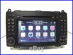 Autoradio GPS/DVD/BT- VOLKSWAGEN CRAFTER + MERCEDES BENZ A B SPRINTER VIANO VITO