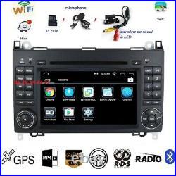 Autoradio Gps Dvd Android10 MERCEDES SPRINTER-VITO-VIANO-A/B+VW CRAFTER + CAMERA
