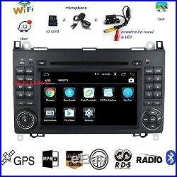 Autoradio Gps Dvd USB Android CAMERA MERCEDES VITO-VIANO-SPRINTER + VW CRAFTER