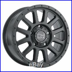 Black Rhino Havasu 7,5x17 6x130 Jantes Mercedes Sprinter G Classe VW Crafter