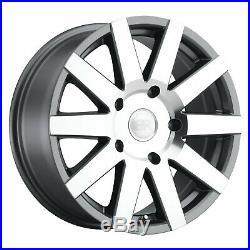 Black Rhino Journey 8x18 6x130 Jantes Mercedes Sprinter VW Crafter