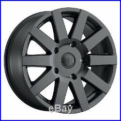 Black Rhino Journey 8x18 6x130 Jantes Mercedes Sprinter VW Crafter Neuf