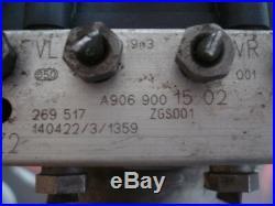 Bloc Hydraulique ABS Crafter Mercedes Sprinter 0265243791 A9069001502 0265956033