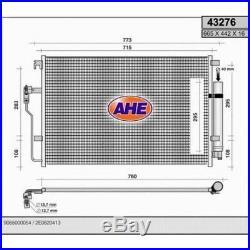 Condenseur à Air Conditionné Climatiseur Mercedes Sprinter II 3.5-2.2 D-3.0 D