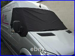 Crafter Mercedes Sprinter Fenêtre Écran Housse Store Camping-Car Drapé Eyes Bleu