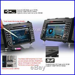 DAB+Autoradio Bluetooth USB Mercedes A/B Classe W169 Sprinter Viano Vito Crafter