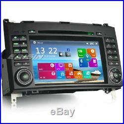 DAB+ Autoradio GPS Mercedes A/B Class W169 W245 Sprinter Vito Viano CD Bluetooth