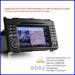 DAB+ Autoradio GPS TNT DVD Mercedes Benz A/B Classe Sprinter Viano Vito Crafter