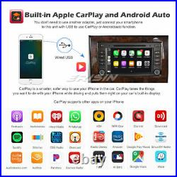 DVD 8-Core Android 10 Autoradio Mercedes Classe A/B Viano VW Crafter CarPlay DSP