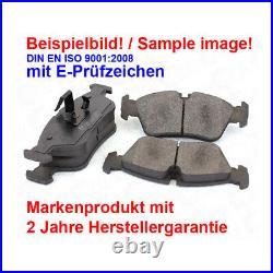 Disques de Frein Plaquettes Arrière Mercedes Sprinter 3-T Boîte 906