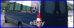 MERCEDES NEUF SPRINTER VW CRAFTER vitre rideaux KIT COMPLET GRIS