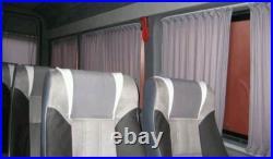 MERCEDES NEUF SPRINTER VW CRAFTER vitre rideaux Set noir couleur