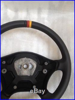 Mercedes Sprinter Vw Crafter Volant Cuir Nappa Personnalisé 2006-2014