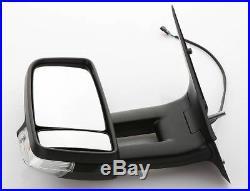 Miroir à gauche, Bras Long, Mercedes Benz Sprinter, VW Crafter, Choisir