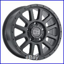 Noir Rhino Havasu 7,5x17 6x130 Jantes Mercedes Sprinter G Classe VW Crafter