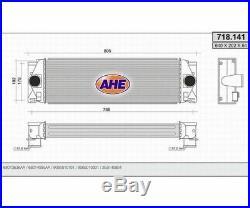 Orifice de Ventilation Latétal Llk Refroidisseur Turbo Mercedes Sprinter 2.2CDi