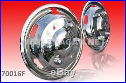 Pour 2006 + Mercedes Sprinter Crafter 40.6cm Double Housse Enjoliveur HOUSSES