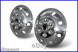 Pour ford transit Mercedes Sprinter Vw Crafter 40.6cm Roue avant Bordure X 2