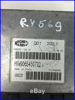 RY569 Mercedes Sprinter VW Crafter Vitesse Contrôle ECU CFC320.01 62000.108.01