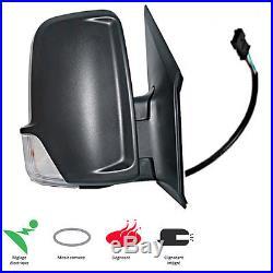 Retroviseur Droit Electrique Degivrant Cable Mercedes Sprinter 2009-2015