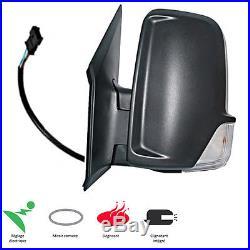 Retroviseur Gauche Electrique Degivrant Cable Mercedes Sprinter 2009-2015