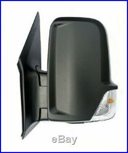 Retroviseur Gauche Mercedes Sprinter Crafter 06-18 Oem 9068106016-a9068106016